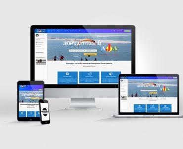 création de site internet jeuns attitude