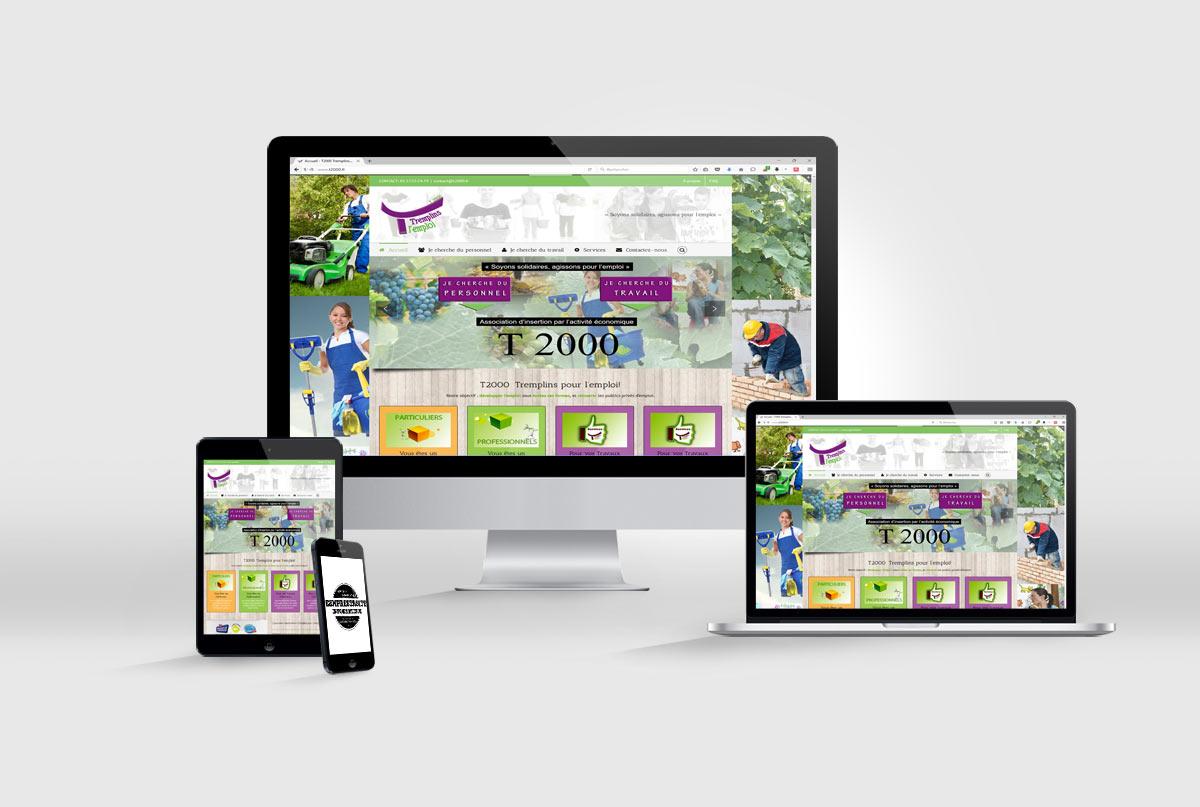création de site internet T2000